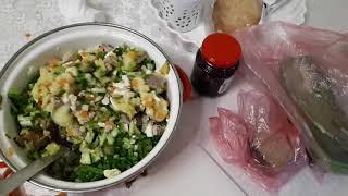 Дневник питания 13,14 мая/пп-оливье/возврат в ленте/подсчёт калорийности