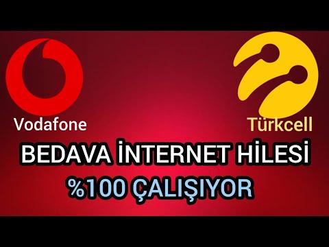 BEDAVA İNTERNET HİLESİ %100 ÇALIŞIYOR 2019 - TÜM HATLARDA GEÇERLİ (TURKCELL, VODAFONE...)