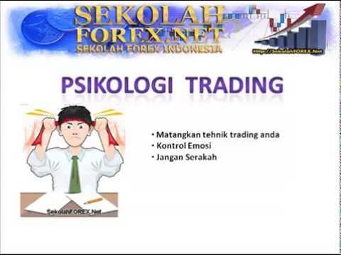 Psikologi dalam trading forex