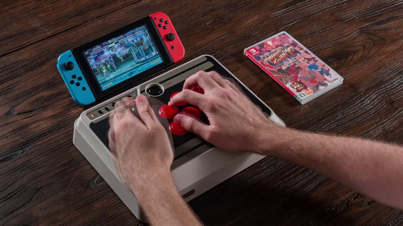 NES30 Arcade Stick for Switch by mthw