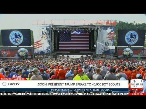 FULL SPEECH: President Trump Speech to 40,000 Boy Scouts at National Scout Jamboree