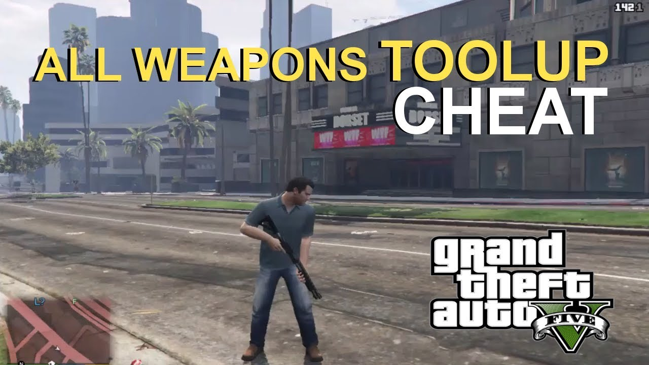 Spawn All Weapons & Best Cheat Codes In GTA5 Mods for PC PS4 & XBOX