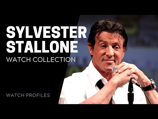 Sylvester Stallone Watch Collection - Celebrity Watch Collection | SwissWatchExpo [Watch Collection]