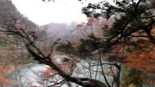 出六峰~出平駅到着@黒部峡谷鉄道