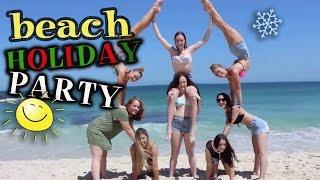 Aussie Beach Holiday Party | Twins Teagan & Sam