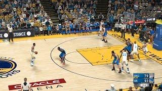 NBA 2K17 2016-11-03 Oklahoma City Thunder Vs Golden State Warriors