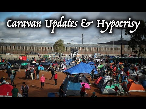 Migrant Caravan In Tijuana Mexico: Updates! Rare Perspective About California & Media Hypocrisy.