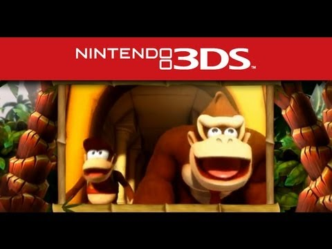 Nintendo 3DS - Trailer - Donkey Kong Country Returns