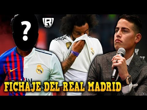 ÚLTIMO: BRASILEÑO FICHARÁ por el REAL MADRID | No QUIEREN a MARCELO por GORDO | ¿JAMES y CR7 JUNTOS?