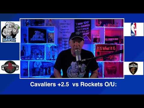 Cleveland Cavaliers vs Houston Rockets 2/24/21 Free NBA Pick and Prediction NBA Betting Tips