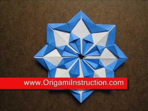 How To Fold Origami Modular Diamond Star