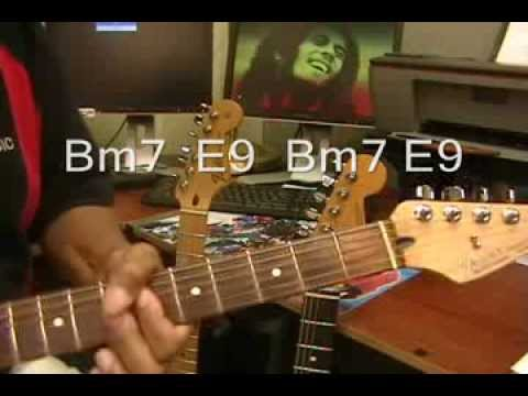 Bob Marley Jammin Electric Guitar Play Along Cover Chords Jamming
