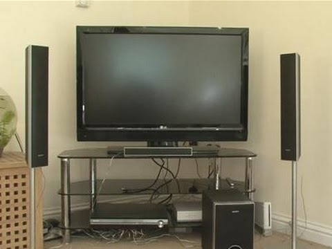 hook up surround sound speakers