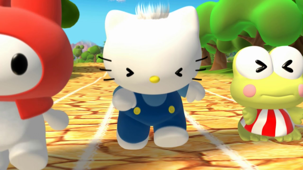 f323c3261fc7 Hello Kitty   Friends - Melody don t want to race - YouTube