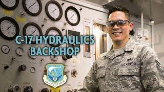 C-17 Hydraulics Backshop