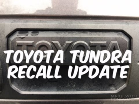 Toyota Tundra Recall Update & 2,000 Subscriber Thank You