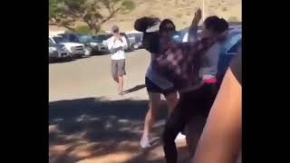 Hood fights (Girl fight) New) Girl is Not Backing Down Let's Fight 2018