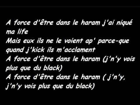 Black M-À force d'être (paroles)
