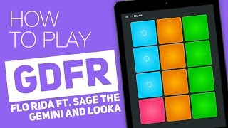 GDFR - Flo Rida ft. Sage The Gemini and Lookas   Tutorial on Super Pads - Falling Kit