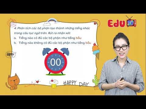 Tiếng Việt lớp 4 Cô Dương Bảo Châu