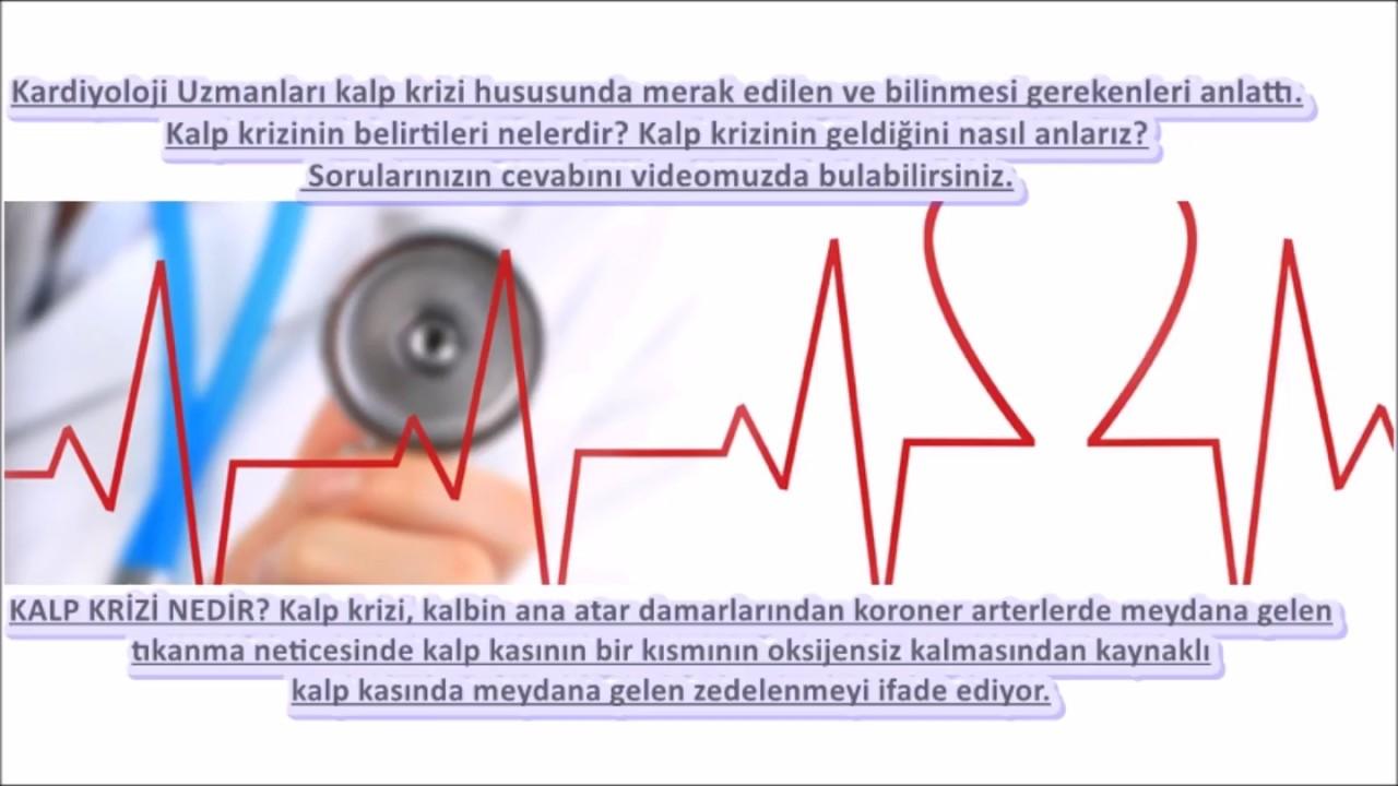 Kalp krizinin belirtileri neler