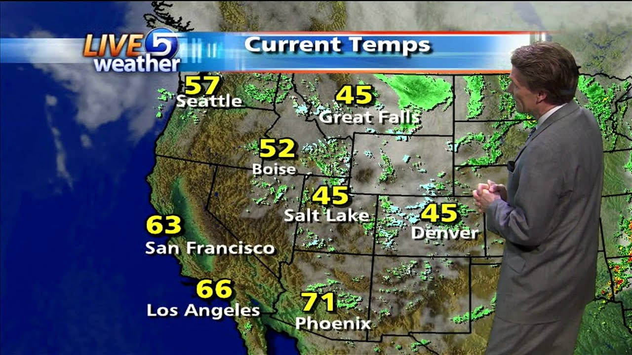Ksl Weather Map.Dan Pope Weather Ksl Tv 4 30 2010 Youtube