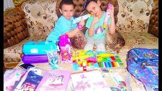 مريومة وحمودي اشتروا أدوات المدرسة 2020
