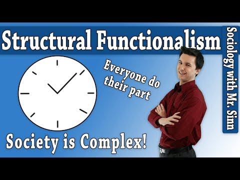 Theoretical Perspectives: Structural Functionalism