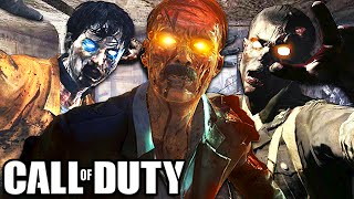 TOP 10 ZOMBIE MAPS IN COD HISTORY!