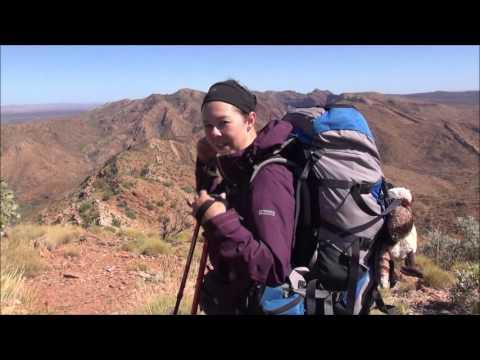 Larapinta Trail Video Day 8 - Hugh Gorge Junction to Stuart's Pass