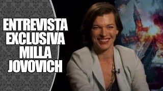 ENTREVISTA | Exclusiva com a atriz Milla Jovovich