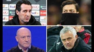 Arsenal could SACK Unai Emery over Mesut Ozil like Man Utd did with Jose Mourinho   pundit