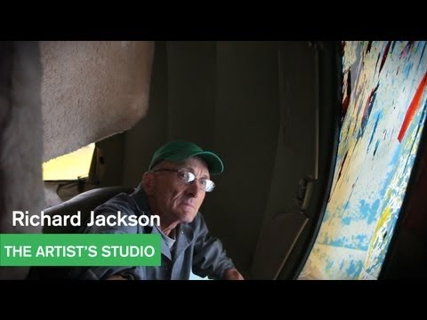 Richard Jackson - Painting With Two Balls - The Artist