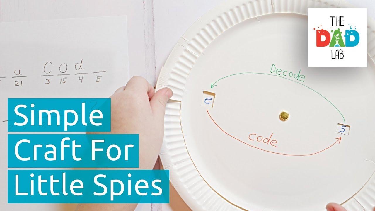 How to Make Simple Secret Decoder For Kids