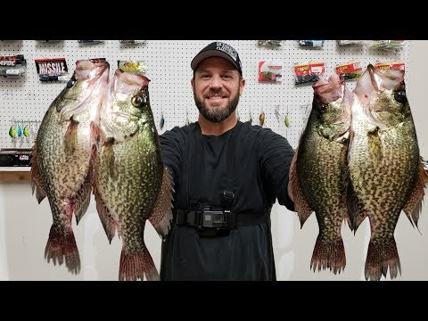 Night time is the RIGHT time!!  Central Florida SLAB BLACK CRAPPIES! (Catch and Clean)...OFF Fishing