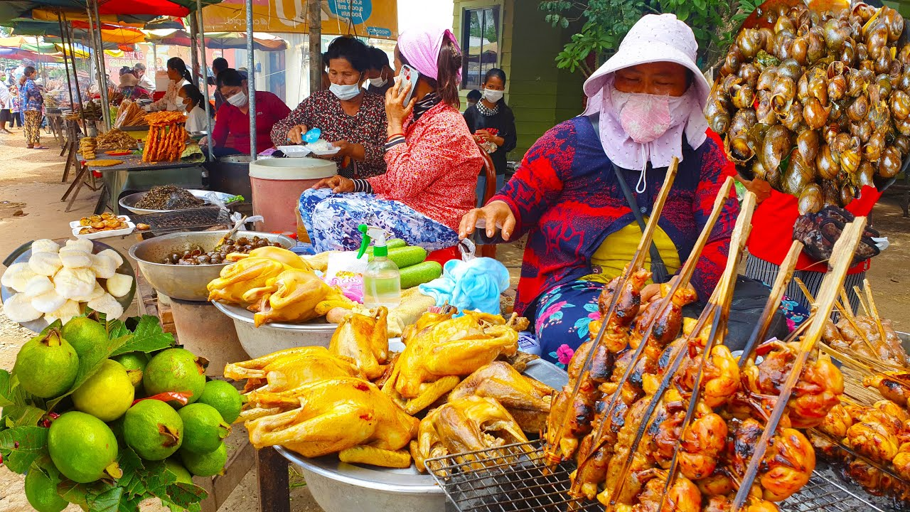 Download One Of Popular Tourism Site In Cambodia - Khmer Yummy Street Food For All Time