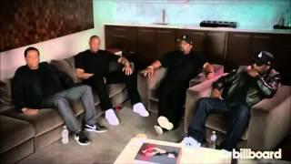 Kendrick Lamar Interview W/ Dr. Dre, Ice Cube, DJ Yella, & MC Ren (NWA) (2015) (COMPTON)