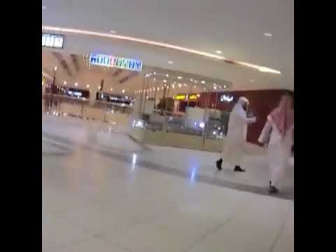 Saudi Arabia's religious police implementing islamic laws and keeping evil practices in check.