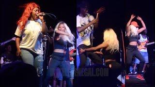 Abiba Et Ses Torrides Danseuses Font Vibrer La Plage BCEAO