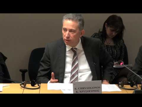 Chrysogonos speech - Challenging the EU Institutions at the European Court
