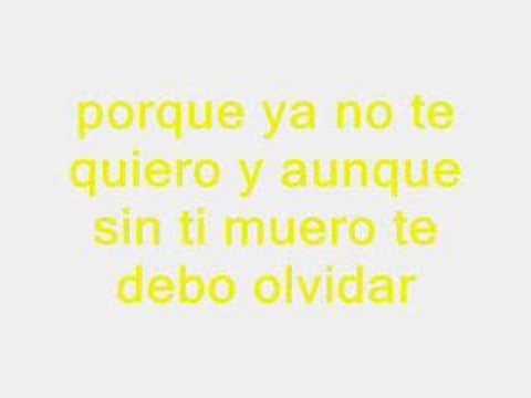 Cubanito : Te Olvidare