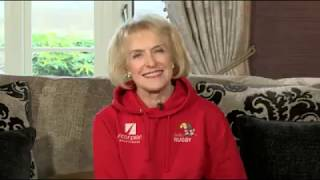 Broadcaster Rosemary Conley says didi Rugby provides 'tremendous fun and enjoyment'