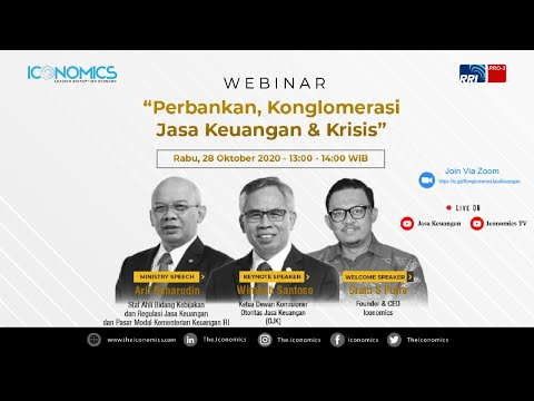 Webinar Perbankan, Konglomerasi Jasa Keuangan U0026 Krisis