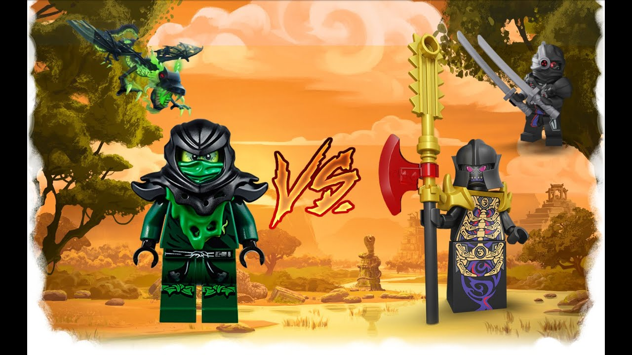 Ninjago the overlord vs morro who 39 s the most powerful youtube - Ninjago vs ninjago ...