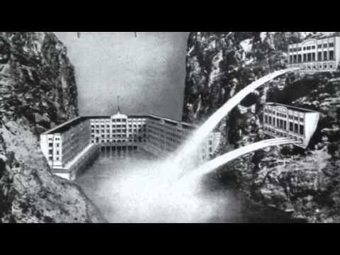 Hoover boulder dam and Golden Gate Bridge