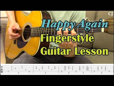 Happy Again - Chet Atkins (With Tab) - Watch and Learn Fingerstyle Guitar Lesson - Camilo James