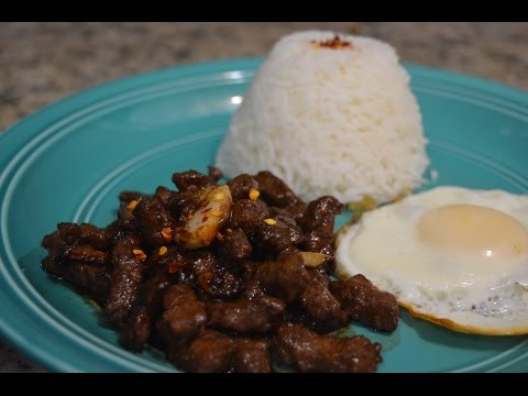 Filipino Recipes: Beef Tapa