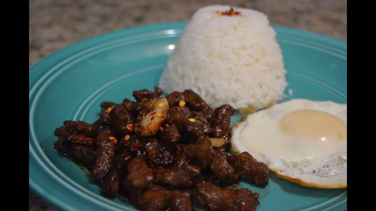how to make beef tapa video