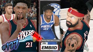 TRUST THE PROCESS!! 84 Points Combined w/ Embiid Return from Injury! NBA 2k18 MyCAREER Ep. 127