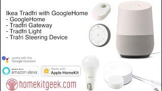 Ikea Tradfri with GoogleHome